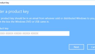 مفاتيح تفعيل ويندوز 10