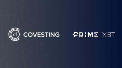 PrimeXBT مع Covesting
