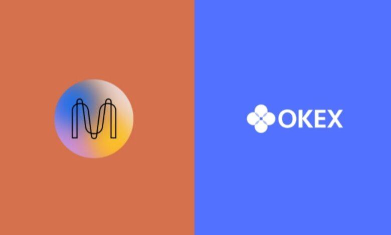 تخزين MINA منصة OKEx
